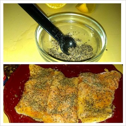 salt n pepper salmon