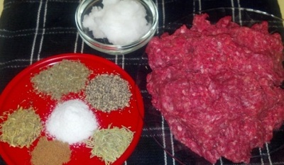 breakfast sausage ingredients