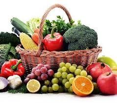 organic foods basket