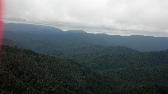 View from Castle Rock Hike in the Santa Cruz Mountains