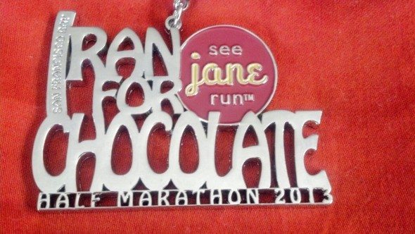 A motivating 13.1 with See Jane Run
